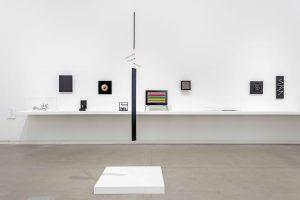 <i>Macchina inutile</i>, 1945-1977 </br> installation view, Mildred Lane Kemper Art Museum, 2020-2021
