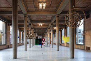 <i>Macchina inutile</i>, 1945-1977 </br> installation view, Palais d'iéna, Paris