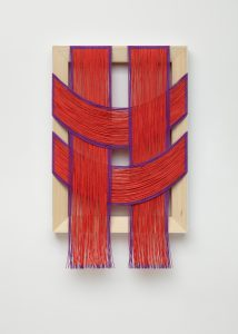 <i>untitled</I>, 2020 </br> Oil on canvas and poplar, 54,6 x 33 x 3,8 cm / 35 x 18 x 1.5 in