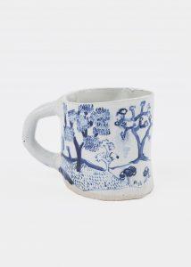 <i>untitled</I>, 1995 </br> glazed ceramic, 10,2 x 14 x 10,2 cm / 4 x 5.5 x 4 in