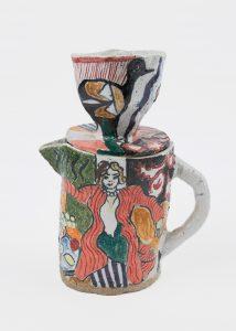 <i>untitled</i>, 2003 </br> glazed ceramic, 25,4 x 20,3 x 11,4 cm / 10 x 8 x 4.5 in