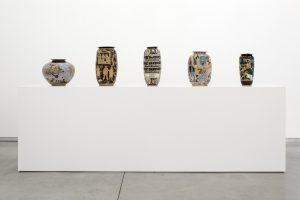 <i>GRAPEVINE ~</I>, 2013 </br> installation view, David Kordansky Gallery, Los Angeles