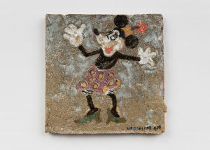 <i>untitled</i>, 2019 </br> glazed ceramic, 14,6 x 14,6 cm / 5.8 x 5.8 in