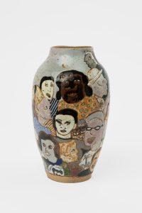 <i>untitled</i>, 1986 </br> glazed ceramic, 29,2 x 15,2 x 15,2 cm / 11.5 x 6 x 6 in