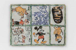 <i>untitled</i>, 2020 </br> glazed ceramic, 29,8 x 22,8 cm / 11.7 x 9 in