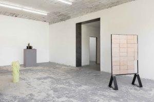 <I>Simone Fattal. A breeze over the Mediterranean</i>, 2021 </br> installation view, ICA Milano