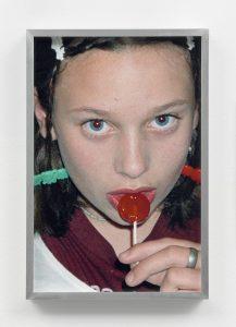 <i>Face #1</i>, 1994/2017 </br> inkjet print, 36 x 24,4 cm / 14.2 x 9.6 in