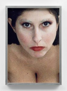 <i>self-portrait (corey tippin make-up #1)</i>, 2017 </br> inkjet print, 35,5 x 25 cm / 13.9 x 9.8 in
