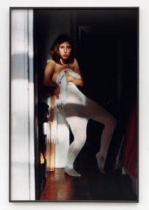 <i>Self-portrait (Mesh Layer)</I>, 2019 </br> inkjet print, 122,6 x 81,3 cm / 48.3 x 32 in