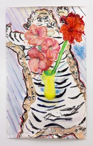 <i>amaryllis on a tiger rug</I>, 2011