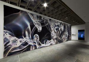 <i>still, untitled</i>, 2010  </br> installation view, whitney biennal, new york