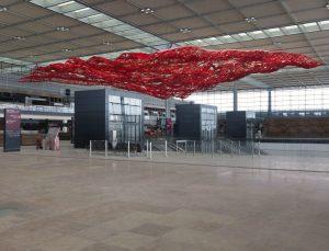 <i>magic carpet</i>, 2012  </br> installation view, berlin brandenburg airport, berlin