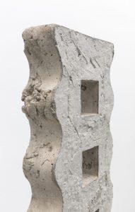 <i>wavy concrete boot</i>, 2018</br>(detail)