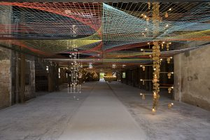 pae white, weaving, unsung, installation view, venice biennial, venice, 2009