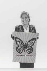 <i>migration is beautiful i (may day, los angeles 2013)</i>, 2015</br>(detail)