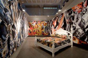 <i>il diavolo del focolare</i>, 2006  </br> installation view, triennale di milano, milan