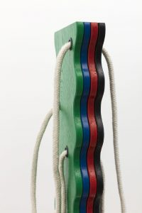 <i>4-colour wavy boot</i>, 2018</br>(detail)