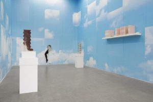 <i>a is for and, am, anxious, apple, adore...</i>, 2018</br>installation view, kaufmann repetto, milan