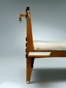 <i>double bed for casa del sole</i>, 1953</br>(detail)