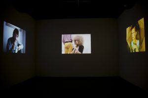 glam! the performance of style, installation view, tate liverpool, liverpool, 2013