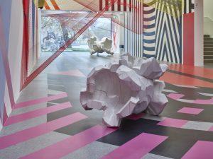 <i>spacemanship</i>, 2017 </br> installation view, saarlandmuseum, saarbrücken