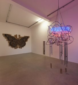 <i>self-determination</i>, 2015</br>installation view, kaufmann repetto, milan