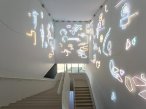 <i><L3U~.>C≈K¥◊CHΔRMS‡</i>, 2017  </br>  installation view, remai modern, saskatoon