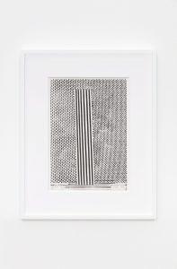 <i>xerografia originale</i>, 1968</br>xerox on paper</br> 36,5 x 25,2 cm / 14.4 x 9.9 in