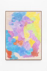 Thea Djordjadze, <i>Untitled</i>, 2019 </br> wood, plaster, watercolor </br> 104 x 77,5 x 3,5 cm / 40.9 x 30.5 x 1.4 in