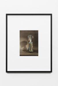 John Stezaker, <i>Africa XX</i>, 2014 </br> collage, 41,5 x 53,2 x 4 cm / 16.3 x 20.9 x 1.6 in (framed)