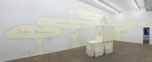 <i>exhibition of the medicines</i>, 2019 </br> installation view, kaufmann repetto, new york