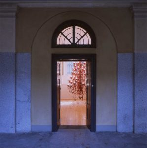 chamois, foggy and sespe, installation view, francesca kaufmann, milan, 2003