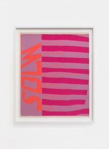 solw, 1967, screenprint, 58,4 x 47,6 cm / 23 x 18.7 in