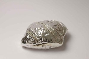 matt sheridan smith, untitled, 2011 silver plated bread, variable dimensions