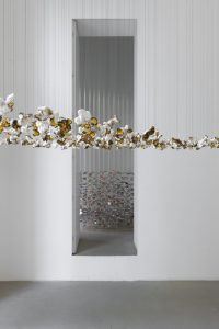 a piece of the almost grey sky…, installation view, kaufmann repetto, milan, 2011