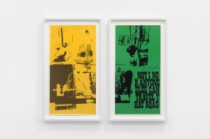 <i>road signs (part 1 and 2)</i>, 1969