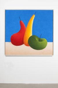 nicolas party, still life, 2015 pastel on canvas, 130 x 140 cm