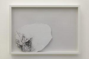 <i>il mistero nascosto da una nuvola</i>, 2013</br>graphite on paper</br>49 x 68 x 6 cm / 19.3 x 22.8 x 2.4