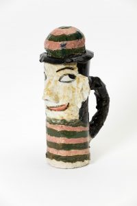 magdalena suarez frimkess, untitled, 2016 ceramic, glaze, 20 × 8 cm