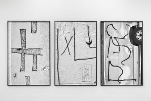 shannon ebner, autoexpoesis, 2014 three framed epson print, 64.03 x 42.95 in, 162.5 x 109 cm each