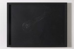 <i>iniziare un tempo</i>, 2013</br>silver pencil on paper</br>44 x 59 x 3 cm / 17.3 x 23.2 x 1.2 in