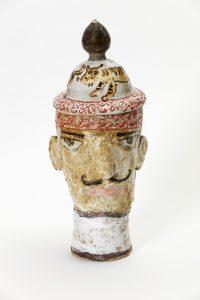 magdalena suarez frimkess, untitled, 2016 ceramic, glaze, 28,5 × 10,5 cm