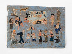untitled, 2014 ceramic, glaze 14.75 × 20.5 inches