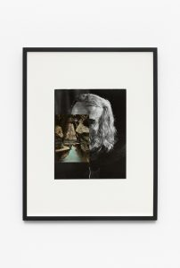 prophet I, 2019 collage, 27,9 x 22,4 cm / 10.9 x 8.8 in