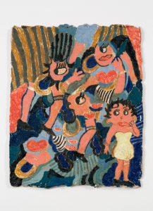 untitled, 2016 ceramic, glaze 10 × 13 inches