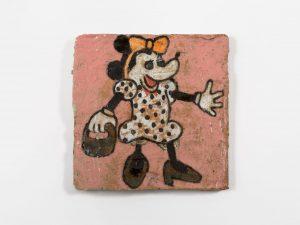 untitled, 2013 ceramic, glaze 5.6 × 5.6 × .4 inches