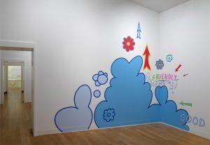 <i>friendly good</i>, 2018 </br> installation view, stedelijk museum, amsterdam