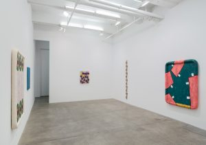 hubris, pubis, scatis, installation view, kaufmann repetto, new york, 2018