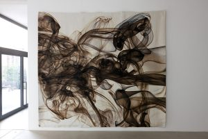 pae white, milan hazy 2, 2011 cotton, polyester and trevira, 365 x 411,48 cm