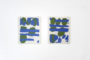<i>let him easter in us #1 (left) let him easter in us #2 (right)</i>, 1963